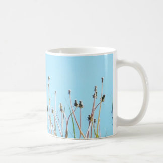Dandelions in the sun coffee mug