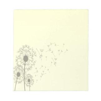 Dandelions Notepad