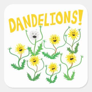 Dandelions! Square Sticker