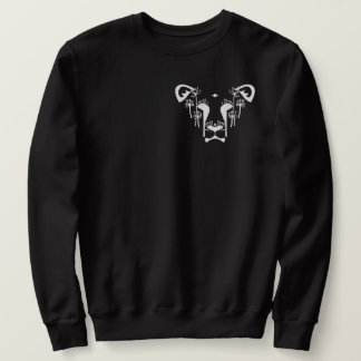 Dandi Lion Crew Sweater Pocket (Black)