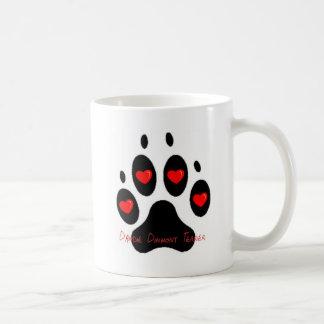 dandie dinmont basic white mug