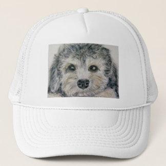Dandie Dinmont puppy hat mum dad birthday