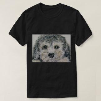 Dandie Dinmont puppy mens t shirt dad son birthday