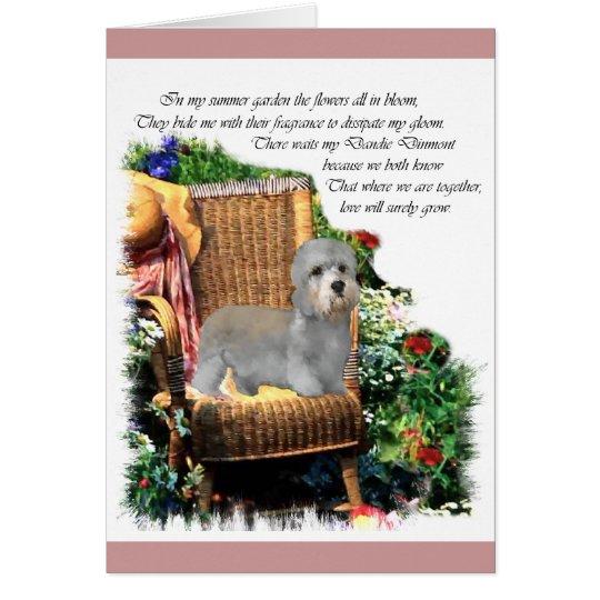 Dandie Dinmont Terrier Art Gifts Card