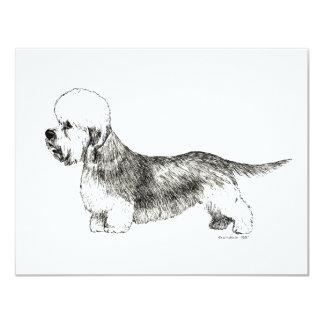 Dandie Dinmont Terrier Card