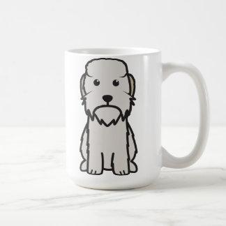 Dandie Dinmont Terrier Dog Cartoon Coffee Mug