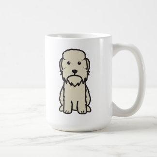 Dandie Dinmont Terrier Dog Cartoon Mugs