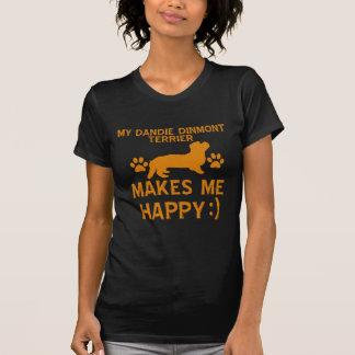 Dandie Dinmont Terrier dog designs Tees