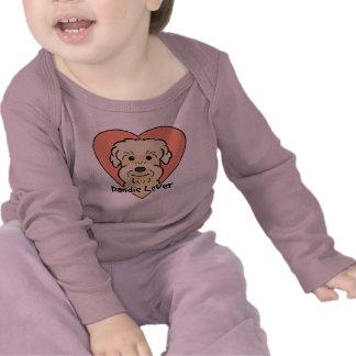 Dandie Dinmont Terrier Lover T-shirt