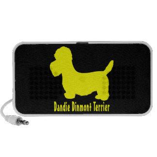 Dandie Dinmont Terrier Mini Speaker
