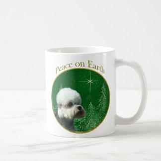 Dandie Dinmont Terrier Peace Coffee Mug