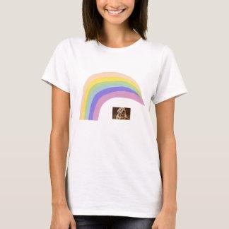 Dandie Dinmont Terrier Rainbow T-Shirt
