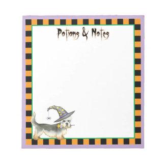 Dandie Witch Notepad