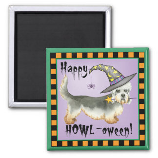Dandie Witch Square Magnet