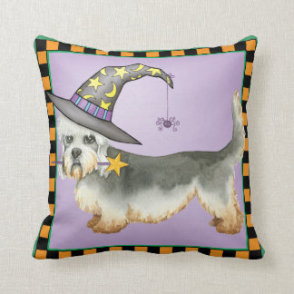 Dandie Witch Throw Pillow