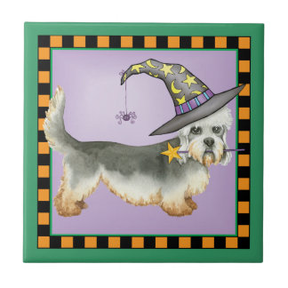 Dandie Witch Tile