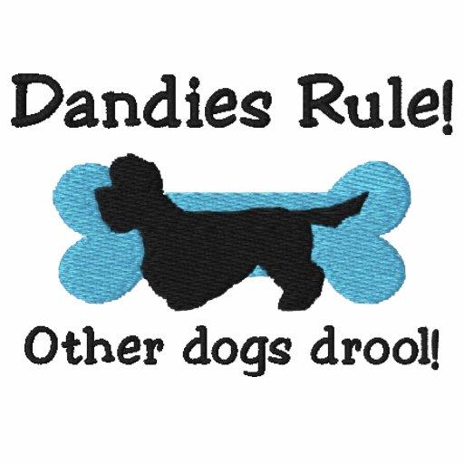 Dandies Rule Embroidered TShirt