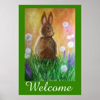 Dandy Bun Welcomes You Poster