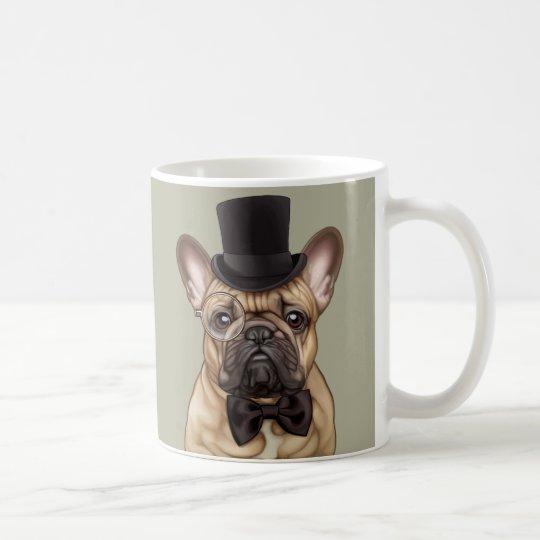 Dandy Chic French Bulldog Coffee Mug