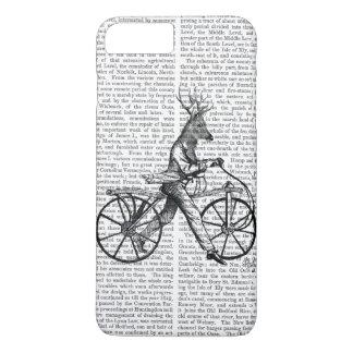 Dandy Deer on Vintage Bicycle iPhone 8 Plus/7 Plus Case