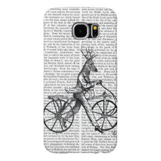 Dandy Deer on Vintage Bicycle Samsung Galaxy S6 Cases