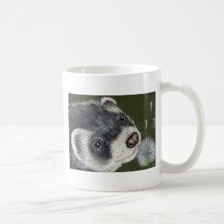 Dandy Ferret Basic White Mug