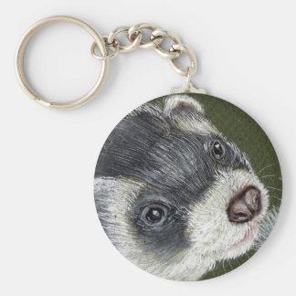 Dandy Ferret Key Ring