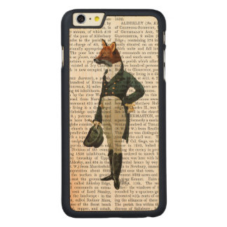 Dandy Fox Full 2 Carved Maple iPhone 6 Plus Case