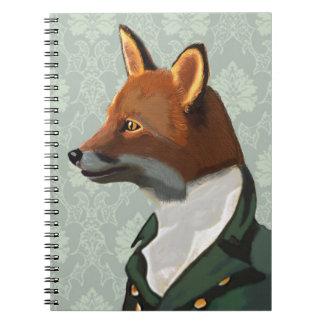 Dandy Fox Portrait 2 Notebook