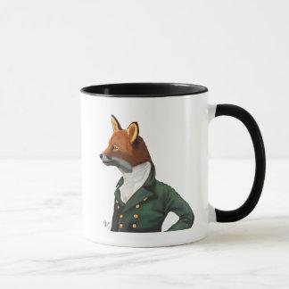 Dandy Fox Portrait Mug