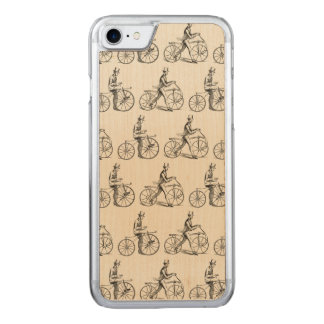 Dandy Horses & Bone Shakers Carved iPhone 8/7 Case