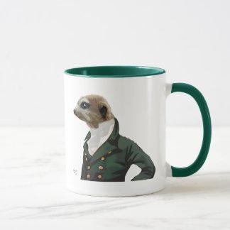 Dandy Meerkat Portrait Mug