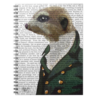 Dandy Meerkat Portrait Notebook