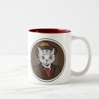 Dandy Vector Cat Mug