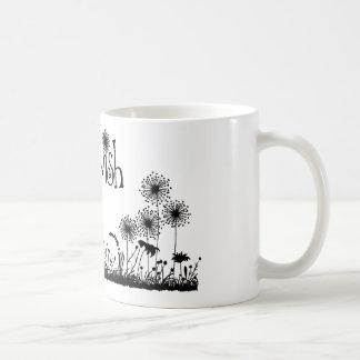 Dandy Wishes coffee cup Basic White Mug