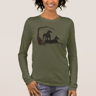 Danes In The Grass Long Sleeve T-Shirt