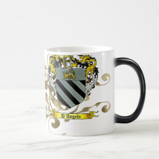 D'Angelo Coat of Arms Magic Mug