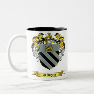 D'Angelo Shield of Arms Mugs