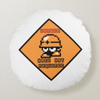 Danger 2 round cushion