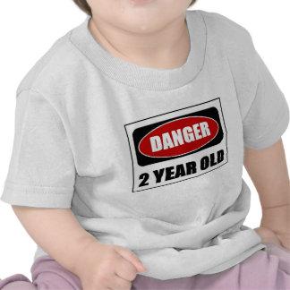 Danger 2 year old shirt
