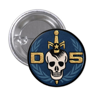 Danger 5 Emblem Button