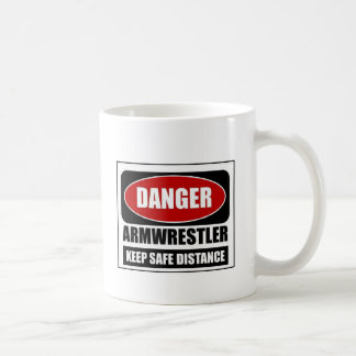 Danger Armwrestler Coffee Mug