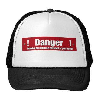 Danger around cap