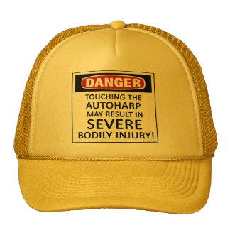 Danger Autoharp Trucker Hats