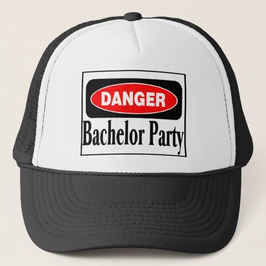 Danger Bachelor Party Cap