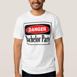 Danger Bachelor Party Tshirt
