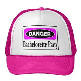 Danger Bachelorette Party Cap