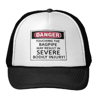 Danger Bagpipe Trucker Hat