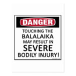 Danger Balalaika Postcard