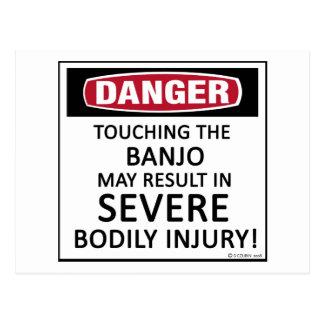 Danger Banjo Postcard